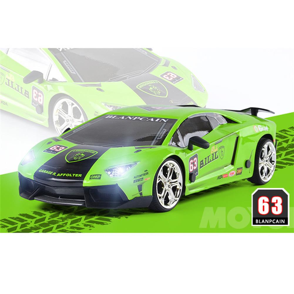 rc-cars JHL 1/16 2.4G 4WD Drift Rc Car Titanium Alloy Shell with LED Light Racing Toys RC1427384 8