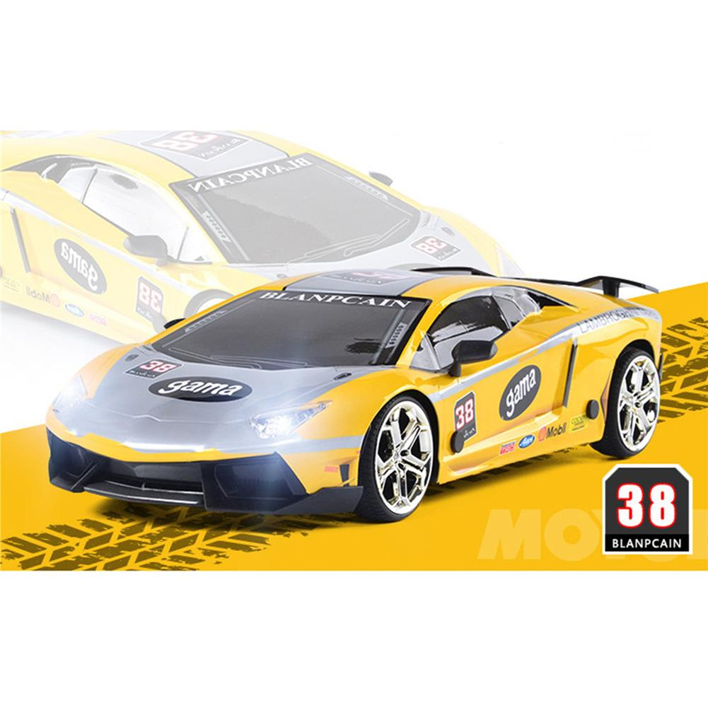 rc-cars JHL 1/16 2.4G 4WD Drift Rc Car Titanium Alloy Shell with LED Light Racing Toys RC1427384 9