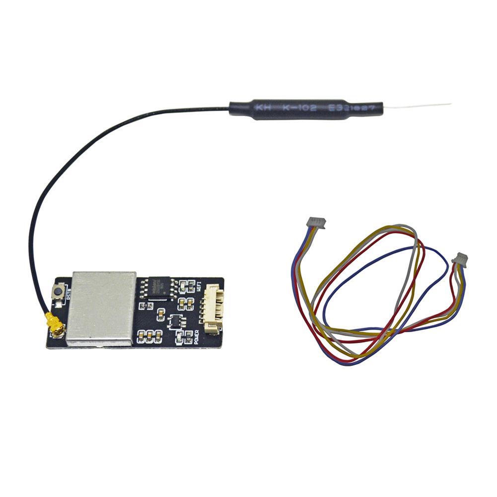 multi-rotor-parts MAVLink Wifi Bridge 2.4G Wireless Wifi Telemetry Module with Antenna for Pixhawk APM Flight Controller RC1428590 3