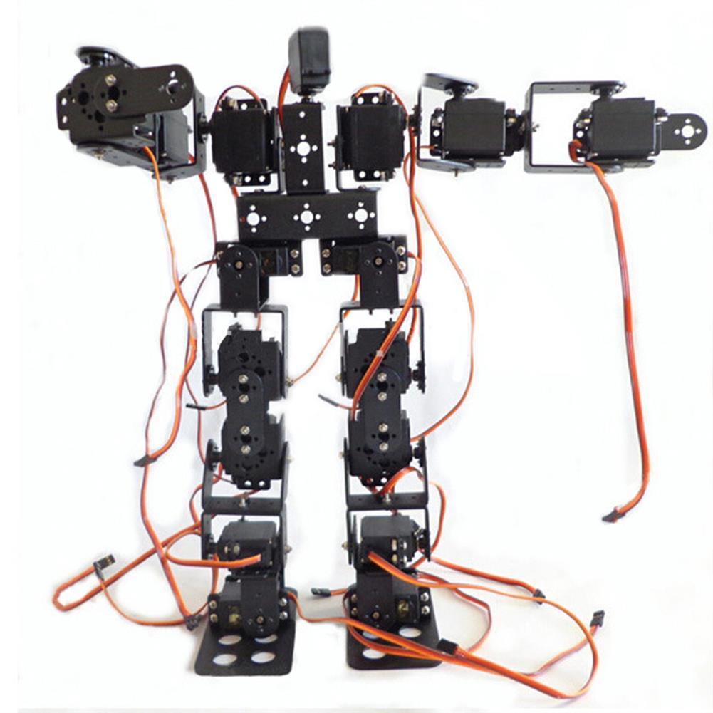 robot-toys DIY 17DOF RC Dancing Robot Educational Walking Race Robot Kit RC1428681