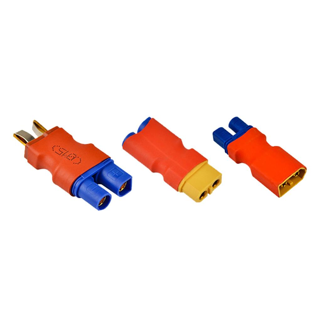 connector-cable-wire XT60 Male Female to EC3 Male Female Plug T Male to EC3 Female Plug Connector for RC Model RC1430657