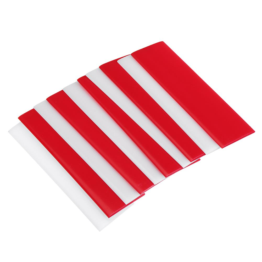 tools-bags-storage-10X3X0.2cm DIY Universal Thermoplastic Card Quick Reusable Strong Fixes Card White Red Color-RC1430660