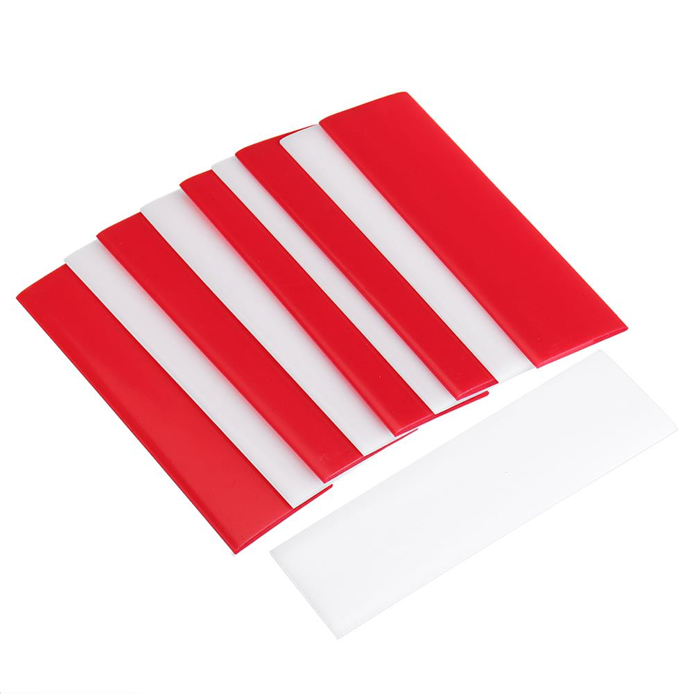 tools-bags-storage-10X3X0.2cm DIY Universal Thermoplastic Card Quick Reusable Strong Fixes Card White Red Color-RC1430660 1