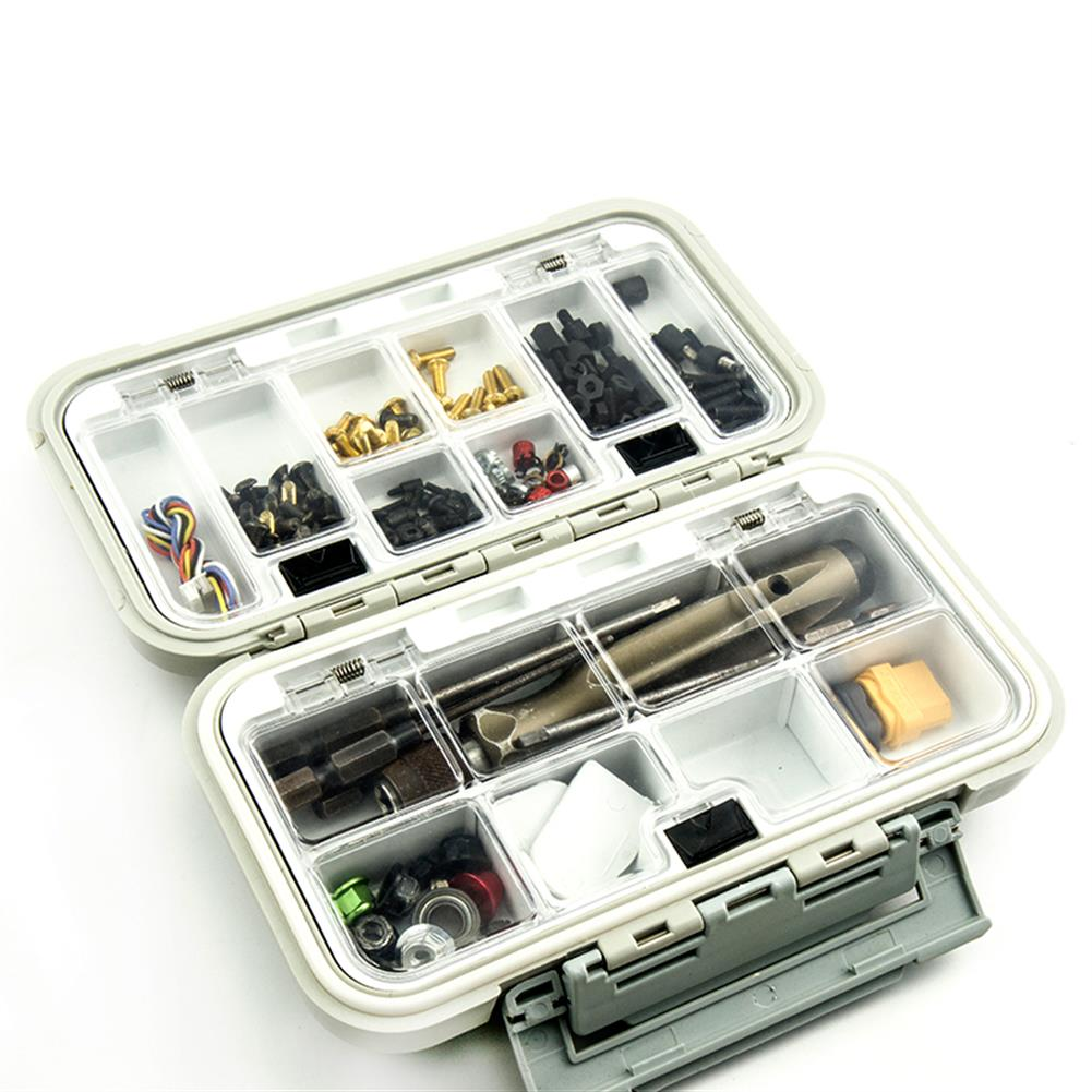 connector-cable-wire Multifunctional Waterproof Storage Box Tool Screw Accessories Box RC1430663 6