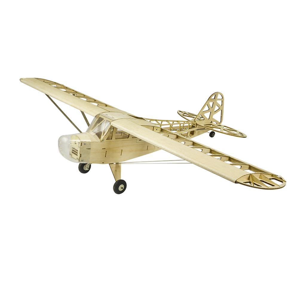 rc-airplane Pipe J3 Cub 1.2M 1200mm Wingspan Balsa Wood Laser Cut RC Airplane RC1432461