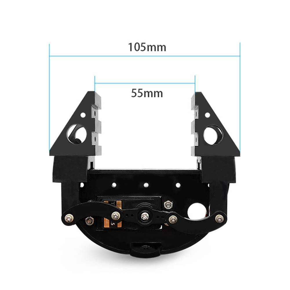 robot-parts-tools ZL-TECH ABS RC Robot Arm Gripper Clamp With Digital Servo RC1432687 3