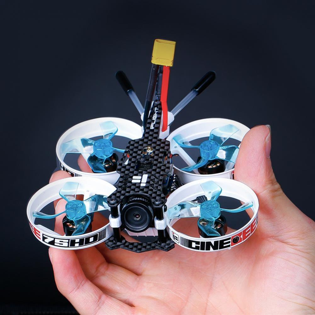 fpv-racing-drones iFlight CineBee 75HD 2-3S Whoop RC FPV Racing Drone W/ SucceX mirco F4 12A 200mW Turtle V2 HD PNP BNF RC1433255 5