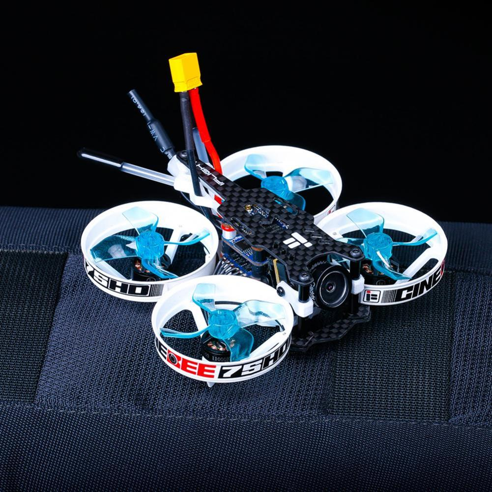 fpv-racing-drones iFlight CineBee 75HD 2-3S Whoop RC FPV Racing Drone W/ SucceX mirco F4 12A 200mW Turtle V2 HD PNP BNF RC1433255 6