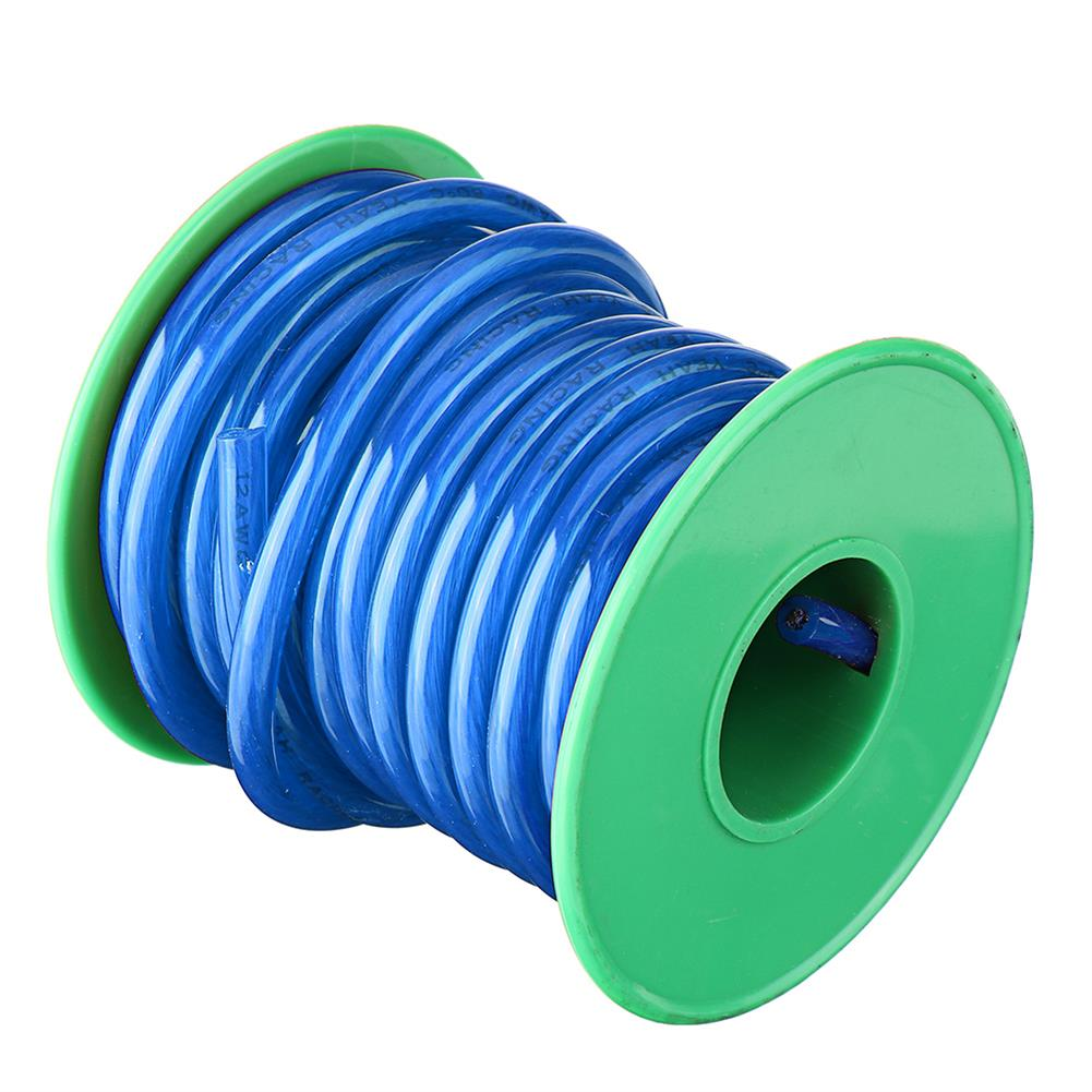 connector-cable-wire 5M 12AWG Soft Silicone Wire Cable High Temperature Tinned Copper RC1434893 7