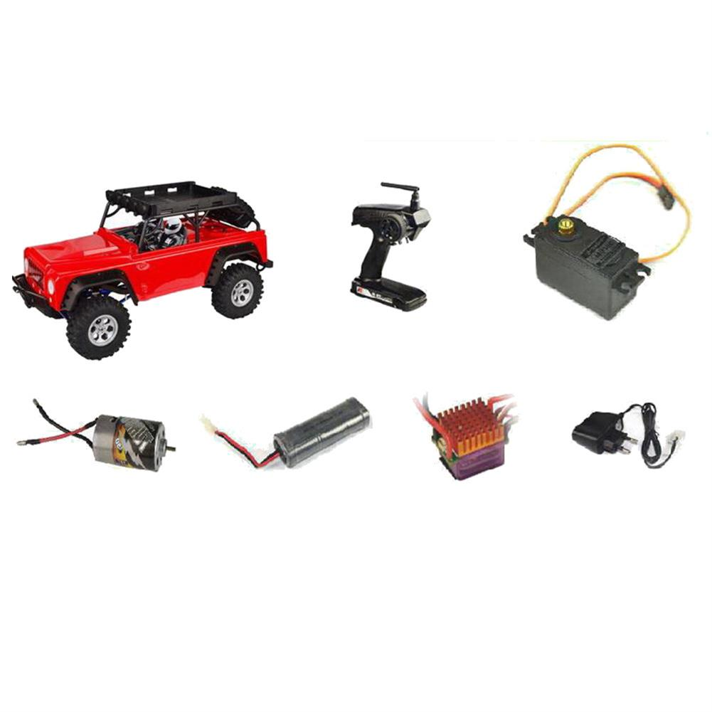 rc-cars VRX Racing RH1048-MC28 1/10 2.4G 4WD Rc Car Electric Brushed Crawler w/ Front LED Light RTR Toys RC1435070 5