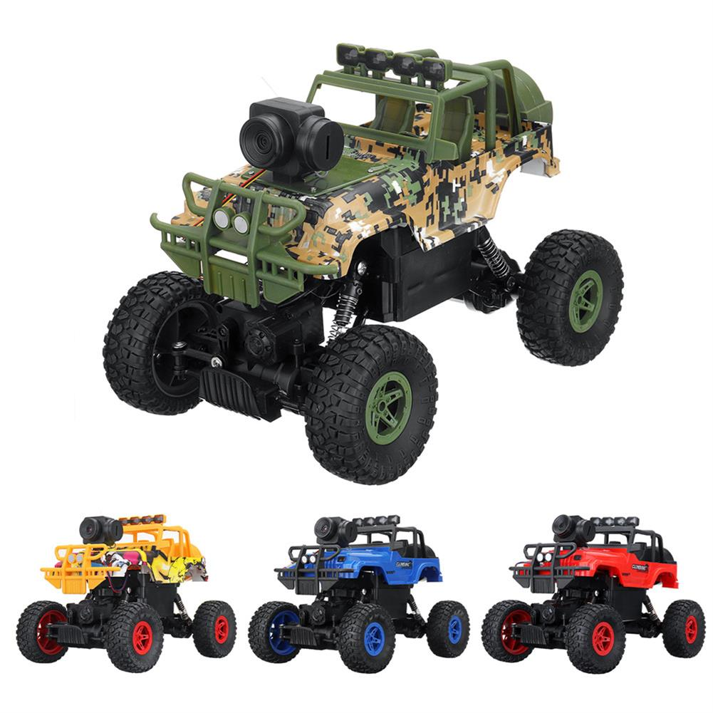 rc-cars 1PC MUYS 1/18 2.4G 4WD Rc Car + 1080P HD WIFI FPV App Controlled Off-Road Vehicle Climbing Truck RTR RC1438375
