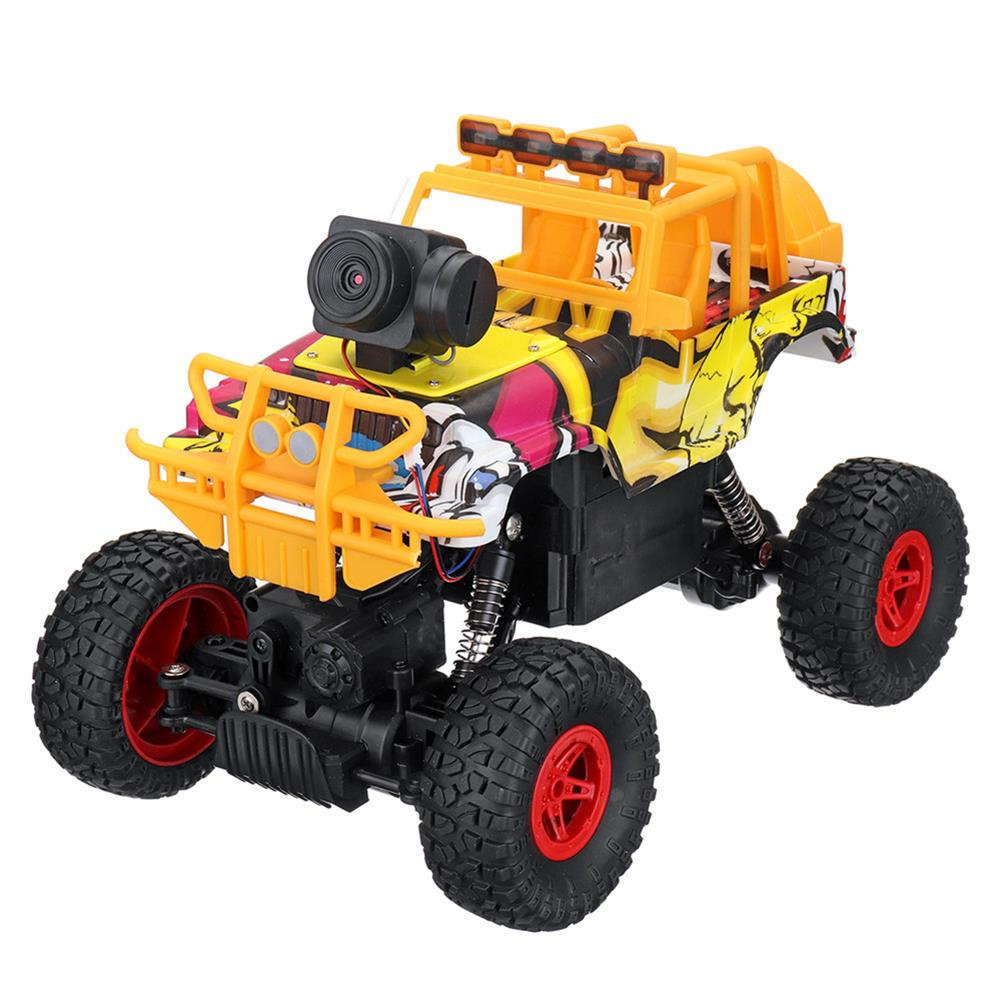 rc-cars 1PC MUYS 1/18 2.4G 4WD Rc Car + 1080P HD WIFI FPV App Controlled Off-Road Vehicle Climbing Truck RTR RC1438375 2