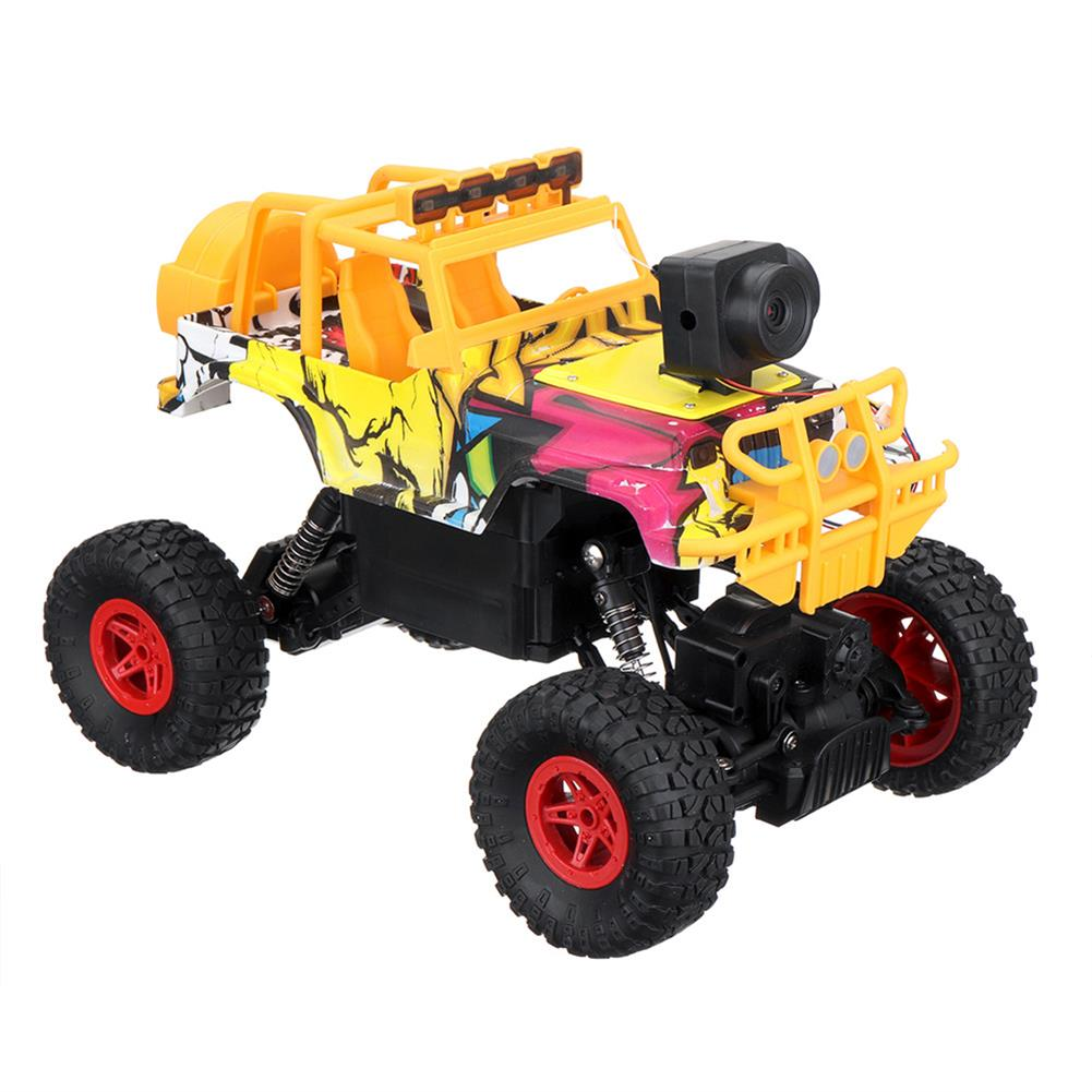 rc-cars 1PC MUYS 1/18 2.4G 4WD Rc Car + 1080P HD WIFI FPV App Controlled Off-Road Vehicle Climbing Truck RTR RC1438375 3