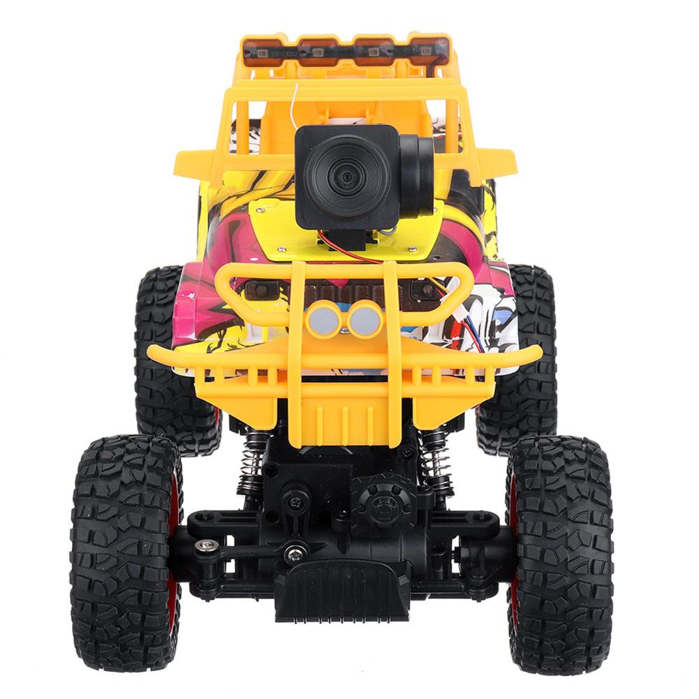 rc-cars 1PC MUYS 1/18 2.4G 4WD Rc Car + 1080P HD WIFI FPV App Controlled Off-Road Vehicle Climbing Truck RTR RC1438375 4