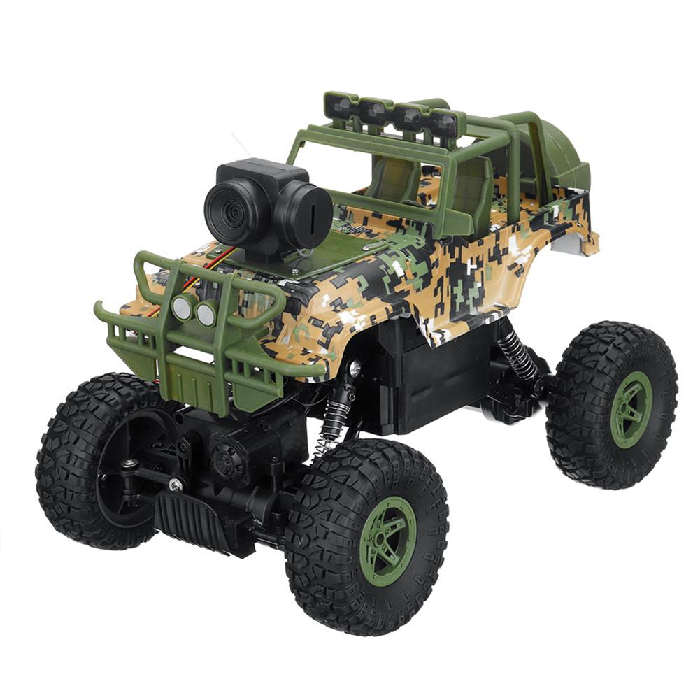 rc-cars 1PC MUYS 1/18 2.4G 4WD Rc Car + 1080P HD WIFI FPV App Controlled Off-Road Vehicle Climbing Truck RTR RC1438375 9