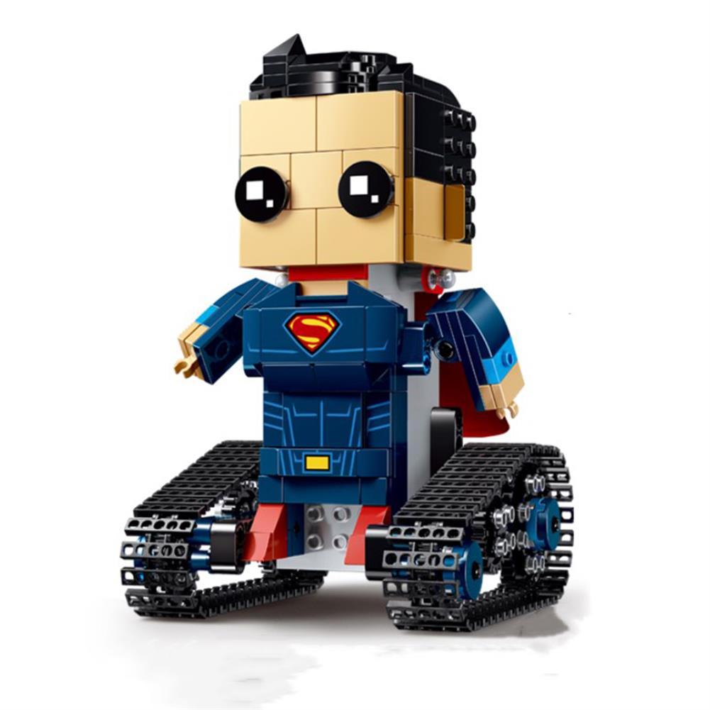 robot-toys MoFun DIY 2.4G 4CH Electronic RC Smart Robot Block Building Assembled Robot Toy Gift RC1440178