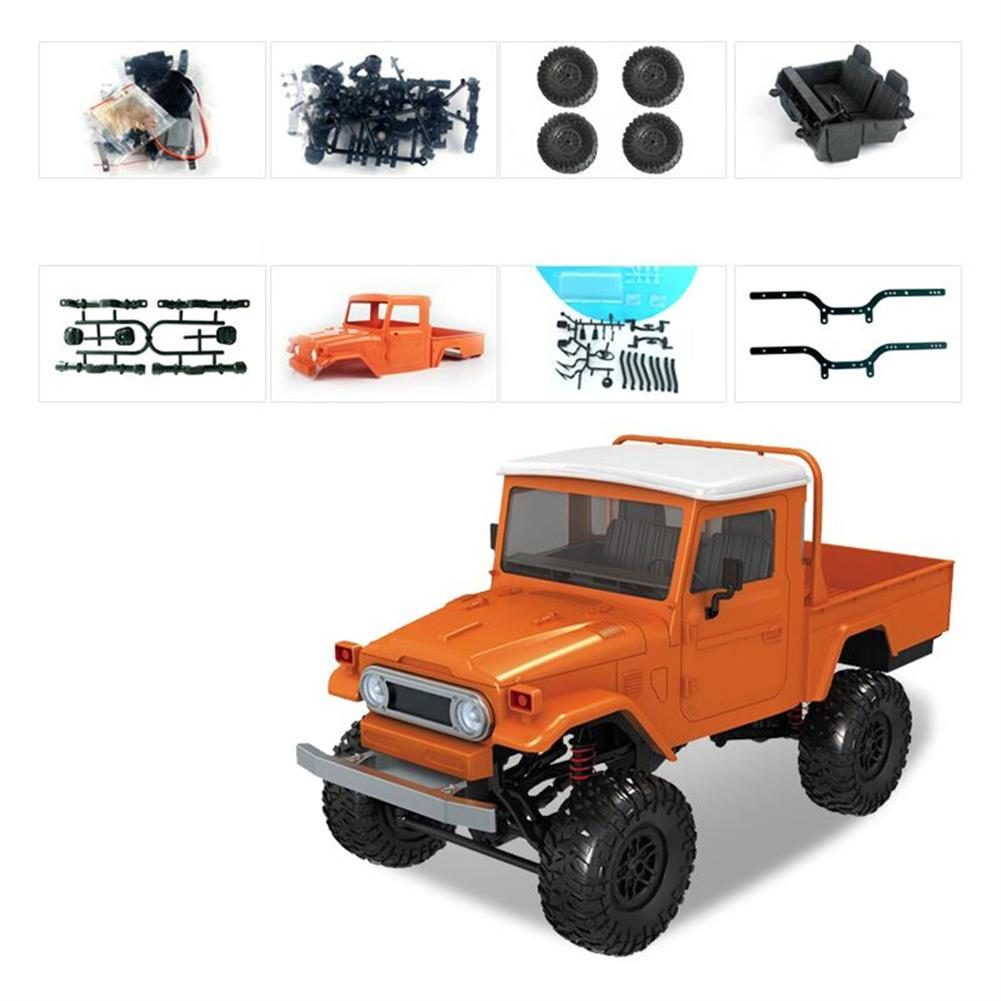 rc-cars MN Model MN45 KIT 1/12 2.4G 4WD Rc Car without ESC Battery Transmitter Receiver RC1440609 1