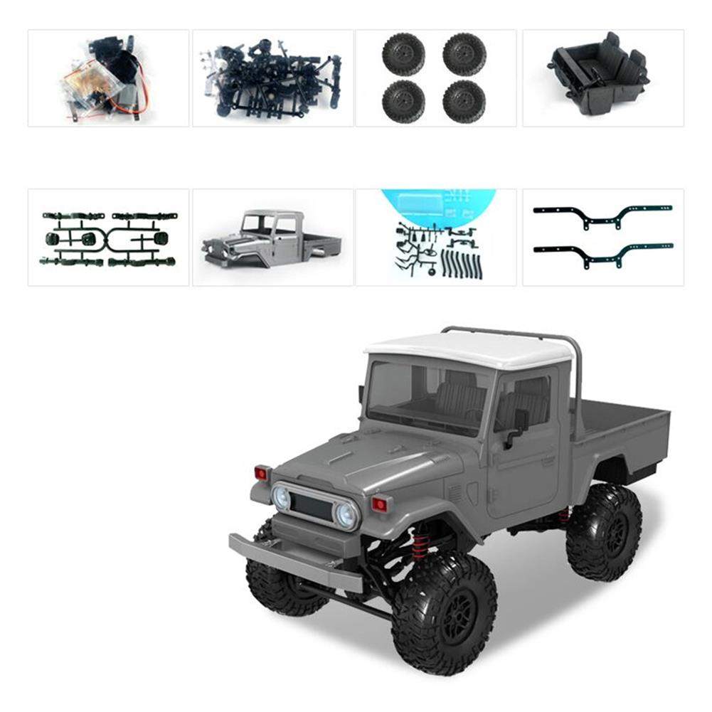 rc-cars MN Model MN45 KIT 1/12 2.4G 4WD Rc Car without ESC Battery Transmitter Receiver RC1440609 2