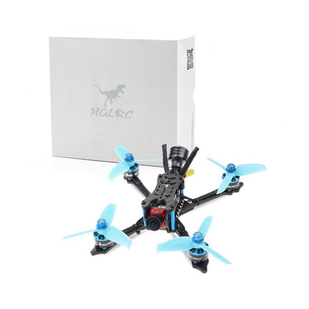fpv-racing-drones HGLRC Arrow 3 152mm F4 OSD 3 Inch 4S 6S FPV Racing Drone PNP BNF w/ 45A ESC Caddx Ratel 1200TVL Camera RC1441391 2