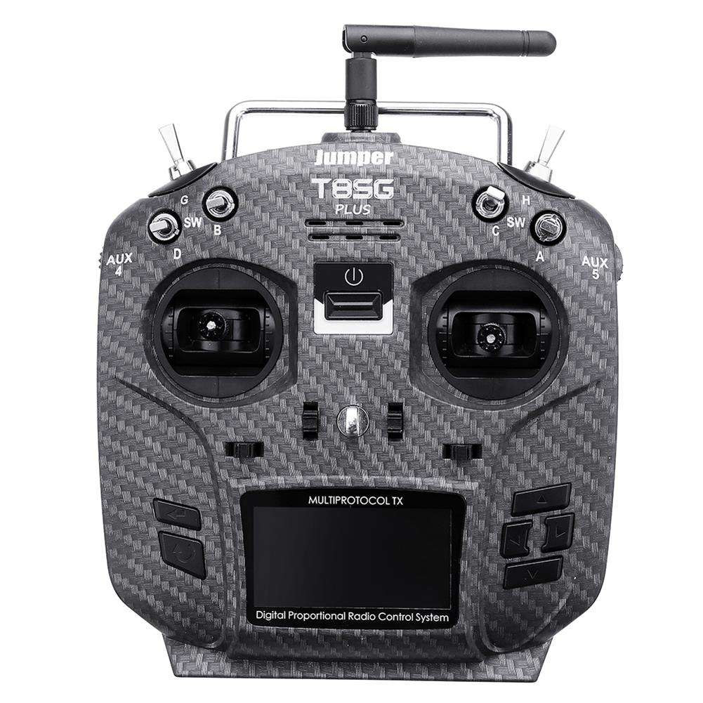 radios-receiver Jumper T8SG V2.0 Plus Carbon Special Edition Hall Gimbal Multi-protocol Advanced Transmitter for Flysky Frsky RC1442802