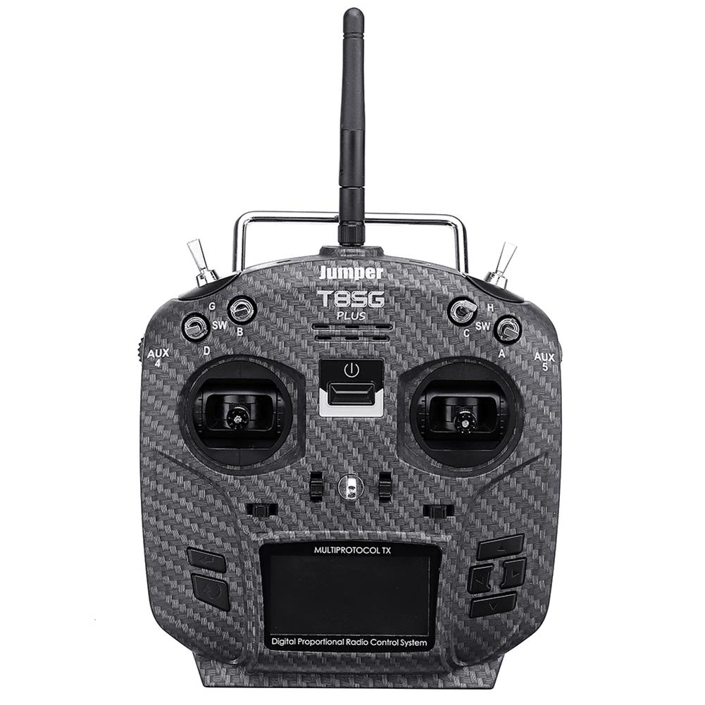 radios-receiver Jumper T8SG V2.0 Plus Carbon Special Edition Hall Gimbal Multi-protocol Advanced Transmitter for Flysky Frsky RC1442802 1