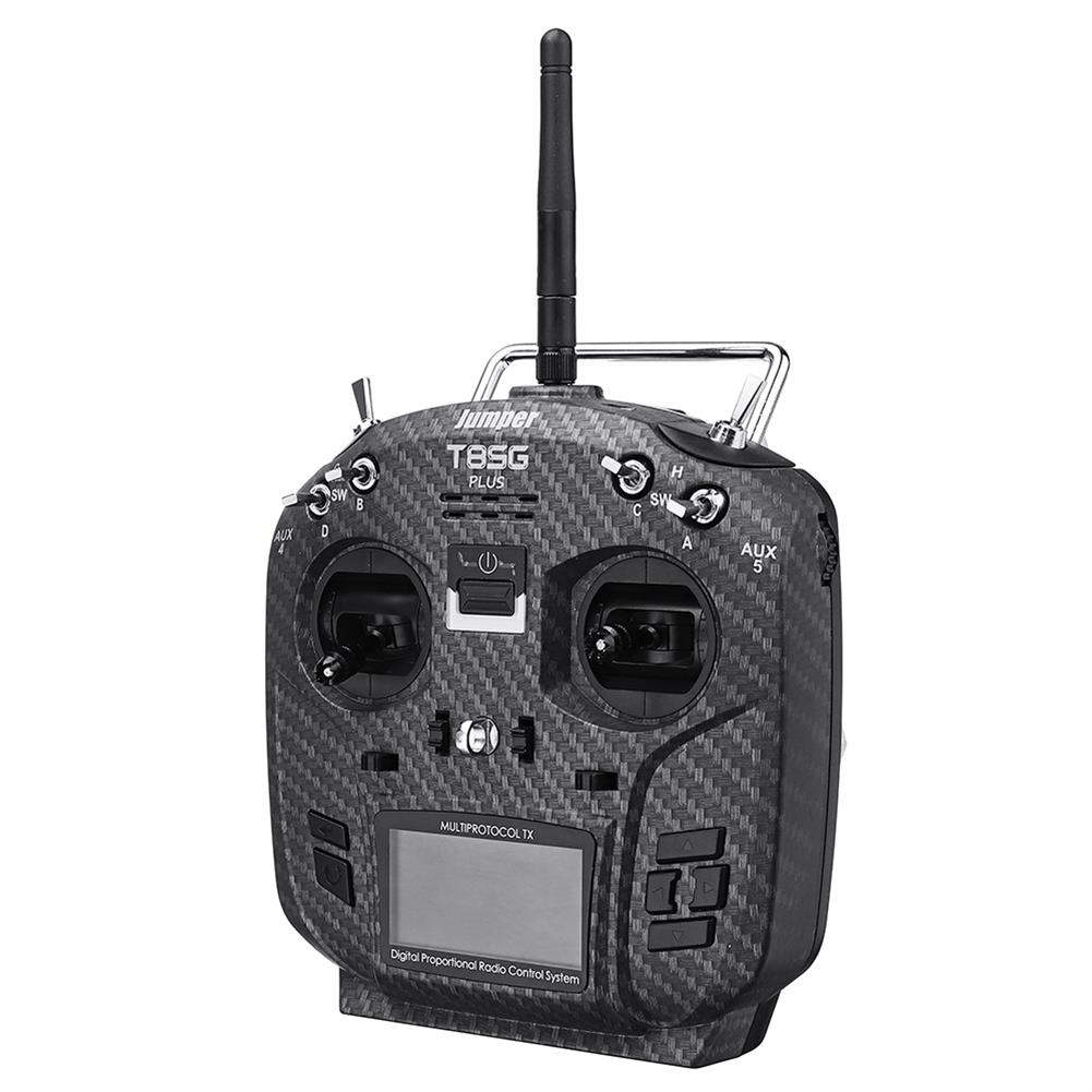 radios-receiver Jumper T8SG V2.0 Plus Carbon Special Edition Hall Gimbal Multi-protocol Advanced Transmitter for Flysky Frsky RC1442802 2