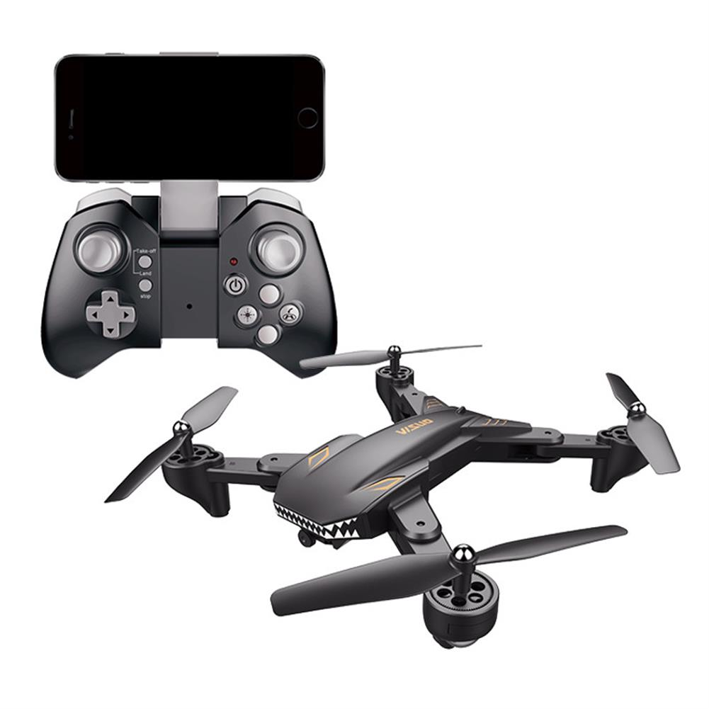 rc-quadcopters VISUO XS816 WiFi FPV with Dual Lens 720P/480P Camera Optical Flow Positioning RC Drone Quadcopter RTF RC1443079