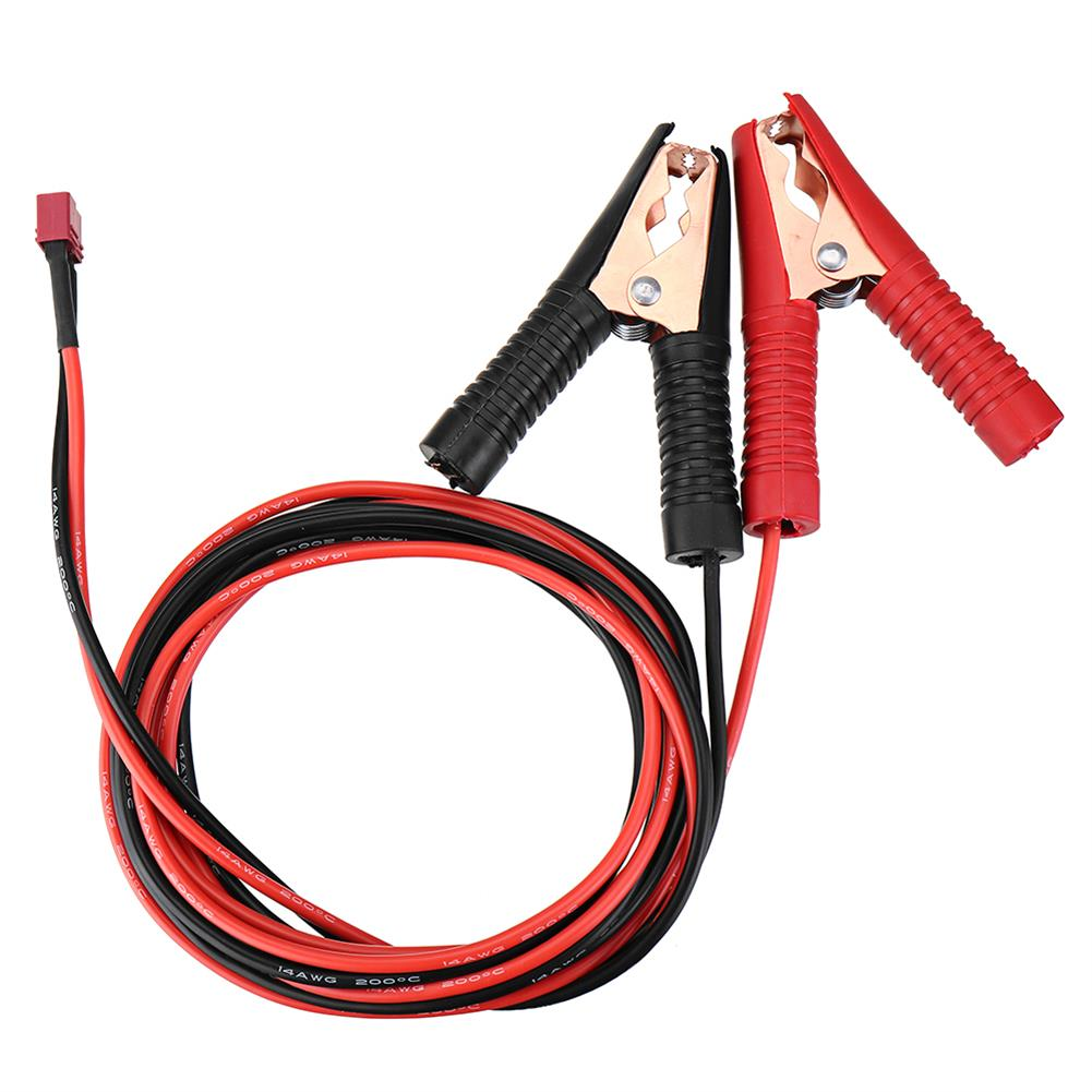 connector-cable-wire 14AWG 30/200cm U Type/Alligator Clip to T /XT60 Female Plug Cable Wire for ISDT Q6 Charger RC1443097 7