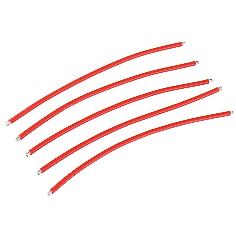 connector-cable-wire 25Pcs 15CM 14AWG Silicone Wire Cable Black Red for FPV RC Airplane Model RC1444862 6