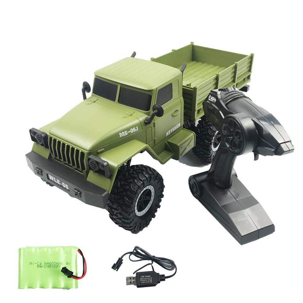 rc-cars SuLong Toys SL3342 Ural 1/10 2.4G 6WD Rc Car Military Truck Vehicle RTR Model RC1447348