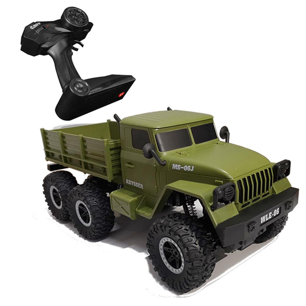 rc-cars SuLong Toys SL3342 Ural 1/10 2.4G 6WD Rc Car Military Truck Vehicle RTR Model RC1447348 2