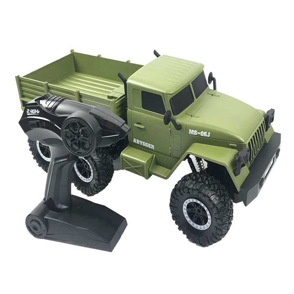 rc-cars SuLong Toys SL3342 Ural 1/10 2.4G 6WD Rc Car Military Truck Vehicle RTR Model RC1447348 3