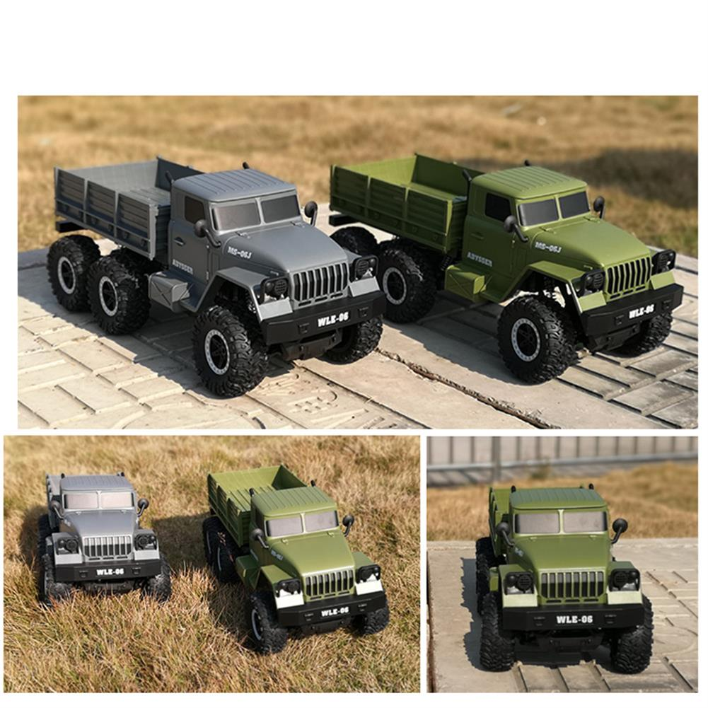 rc-cars SuLong Toys SL3342 Ural 1/10 2.4G 6WD Rc Car Military Truck Vehicle RTR Model RC1447348 5