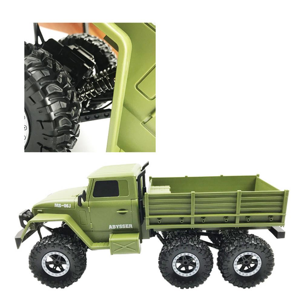 rc-cars SuLong Toys SL3342 Ural 1/10 2.4G 6WD Rc Car Military Truck Vehicle RTR Model RC1447348 6