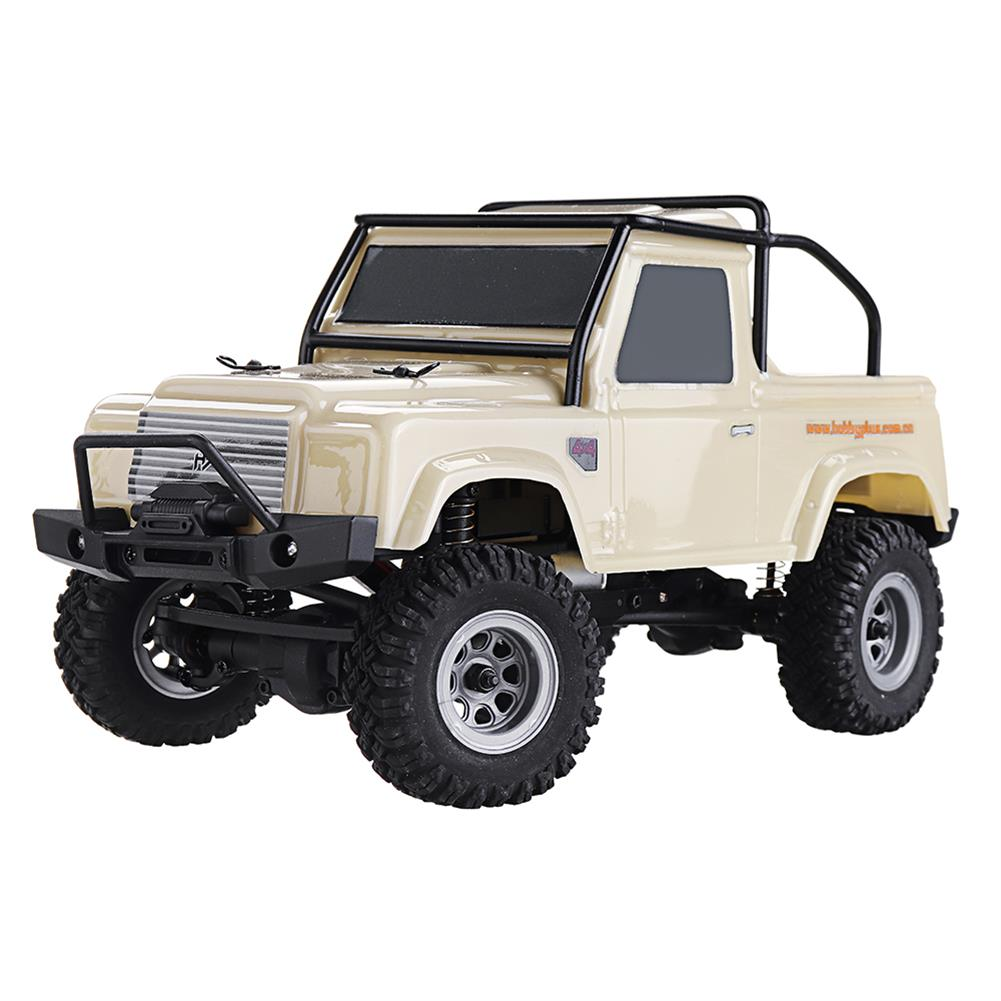 rc-cars URUAV 1/24 4WD 2.4G Mini RC Car Crawler Model Vehicle Waterproof RTR With Two Battery RC1447454