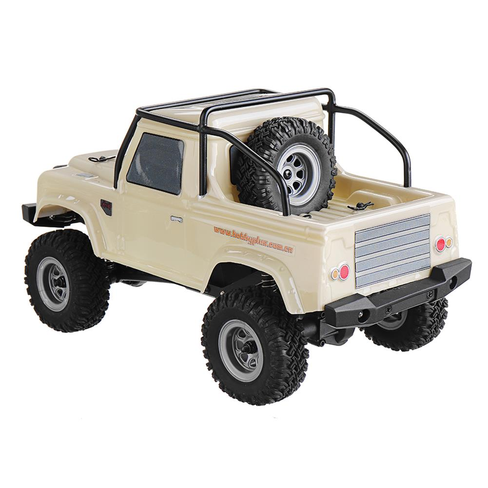 rc-cars URUAV 1/24 4WD 2.4G Mini RC Car Crawler Model Vehicle Waterproof RTR With Two Battery RC1447454 1