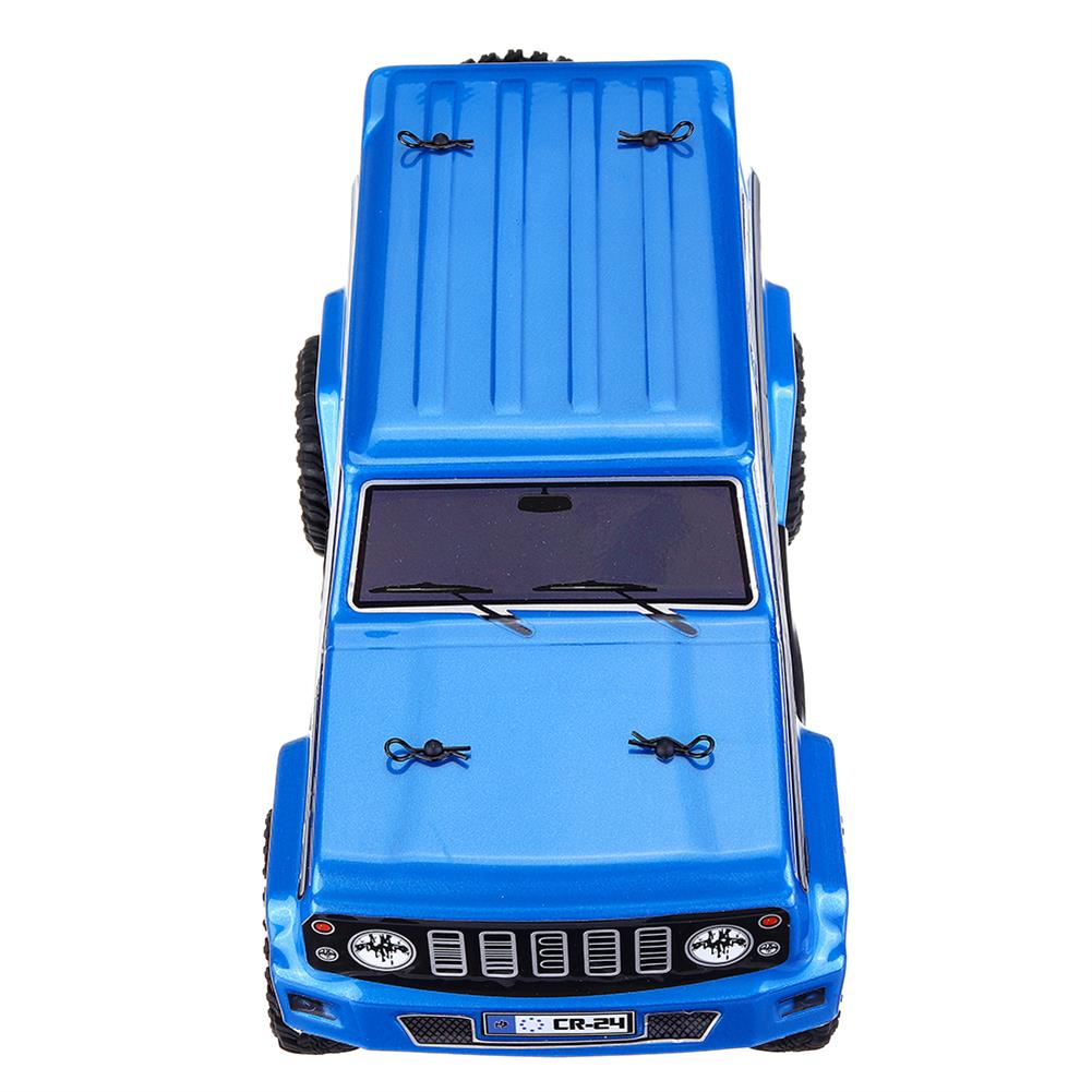 rc-cars URUAV 1/24 4WD 2.4G Mini RC Car Crawler Model Vehicle Waterproof RTR With Two Battery RC1447454 3