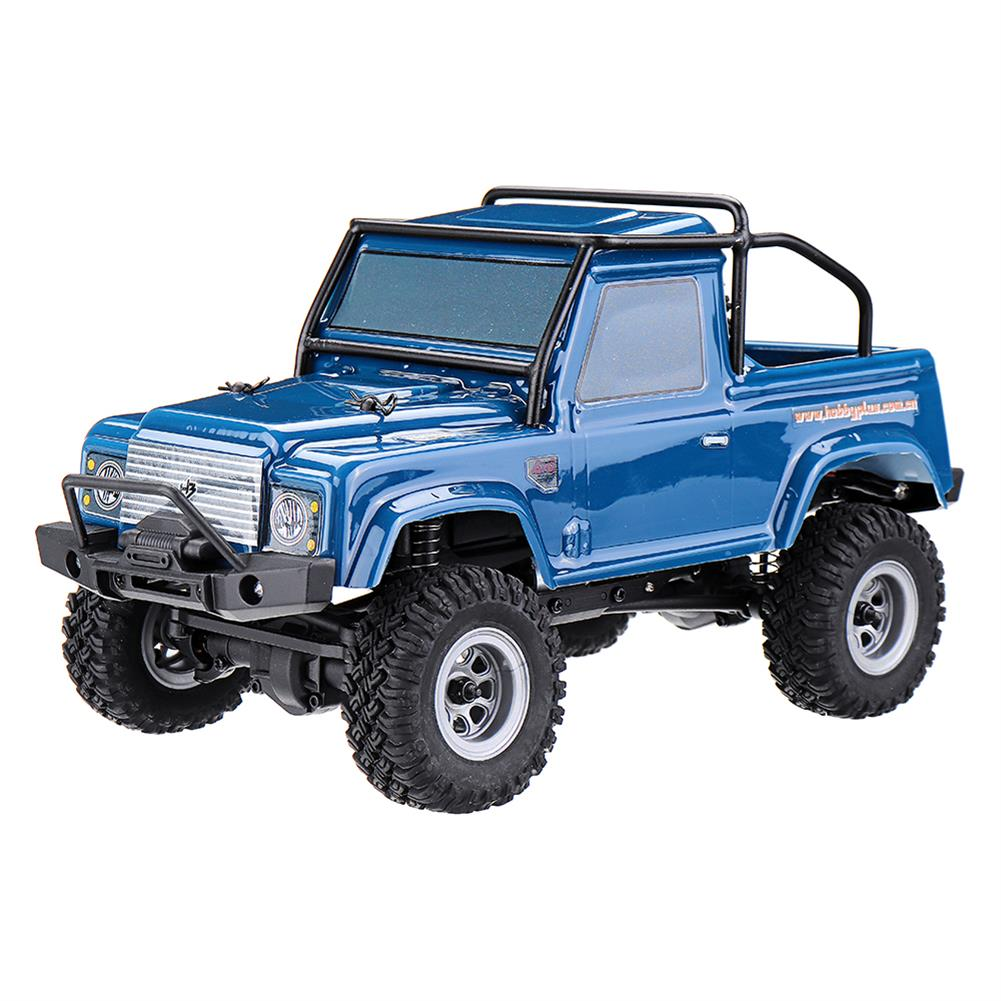 rc-cars URUAV 1/24 4WD 2.4G Mini RC Car Crawler Model Vehicle Waterproof RTR With Two Battery RC1447454 6