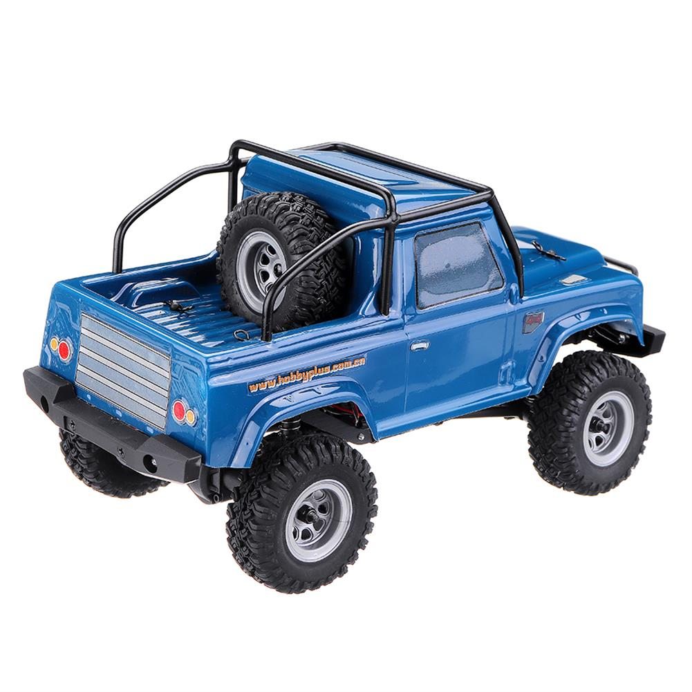 rc-cars URUAV 1/24 4WD 2.4G Mini RC Car Crawler Model Vehicle Waterproof RTR With Two Battery RC1447454 7