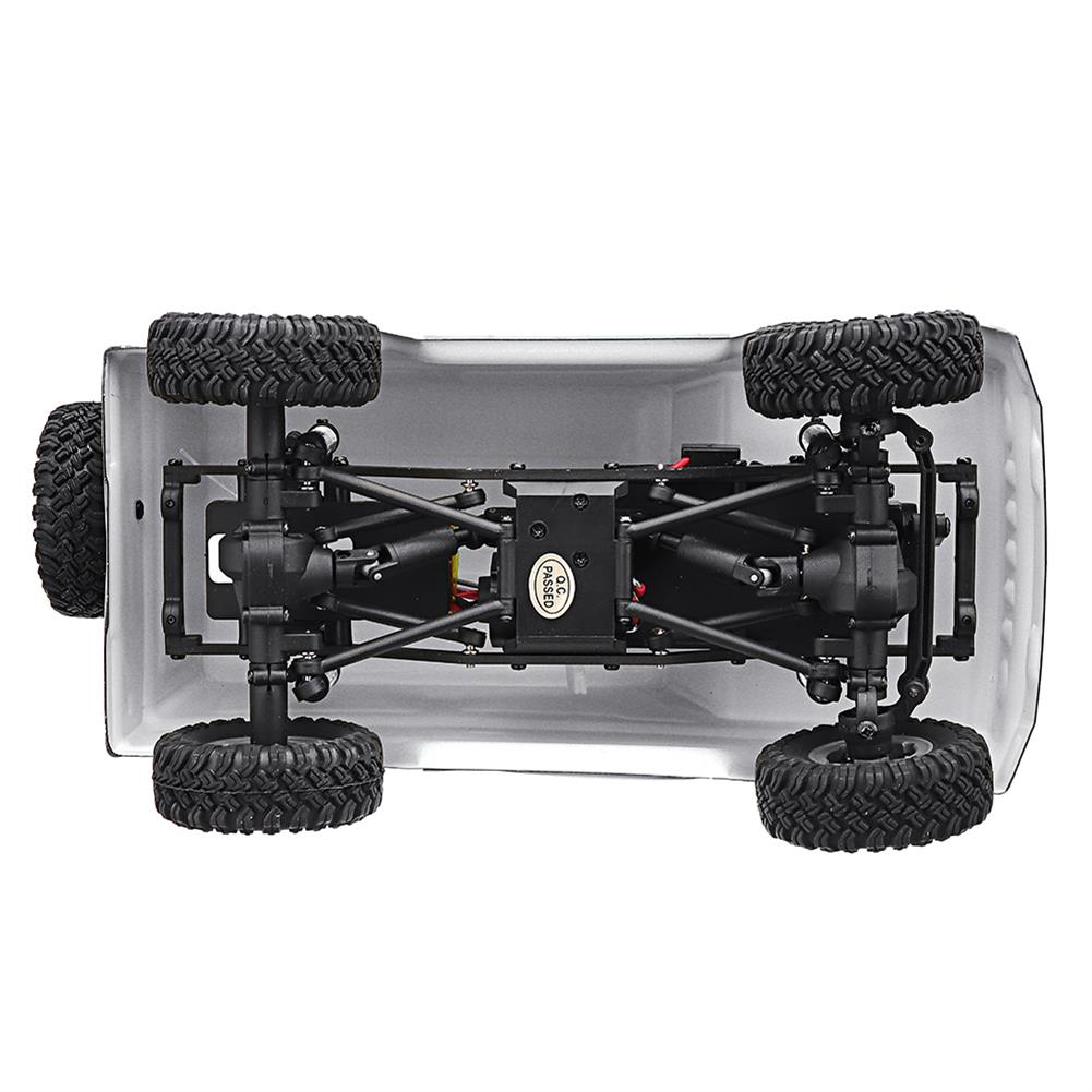 rc-cars URUAV 1/24 4WD 2.4G Mini RC Car Crawler Model Vehicle Waterproof RTR With Two Battery RC1447454 9