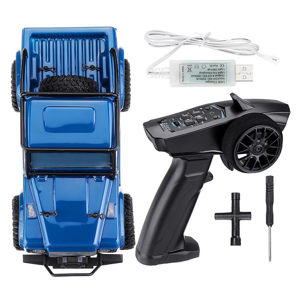 rc-cars URUAV 1/24 4WD 2.4G Mini RC Car Crawler Model Vehicle Waterproof RTR RC1447471 1