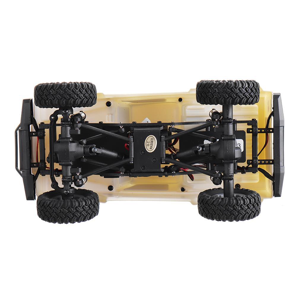 rc-cars URUAV 1/24 4WD 2.4G Mini RC Car Crawler Model Vehicle Waterproof RTR RC1447471 4