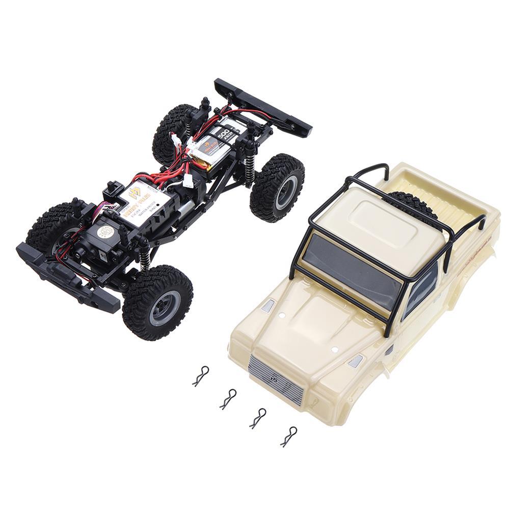 rc-cars URUAV 1/24 4WD 2.4G Mini RC Car Crawler Model Vehicle Waterproof RTR RC1447471 5