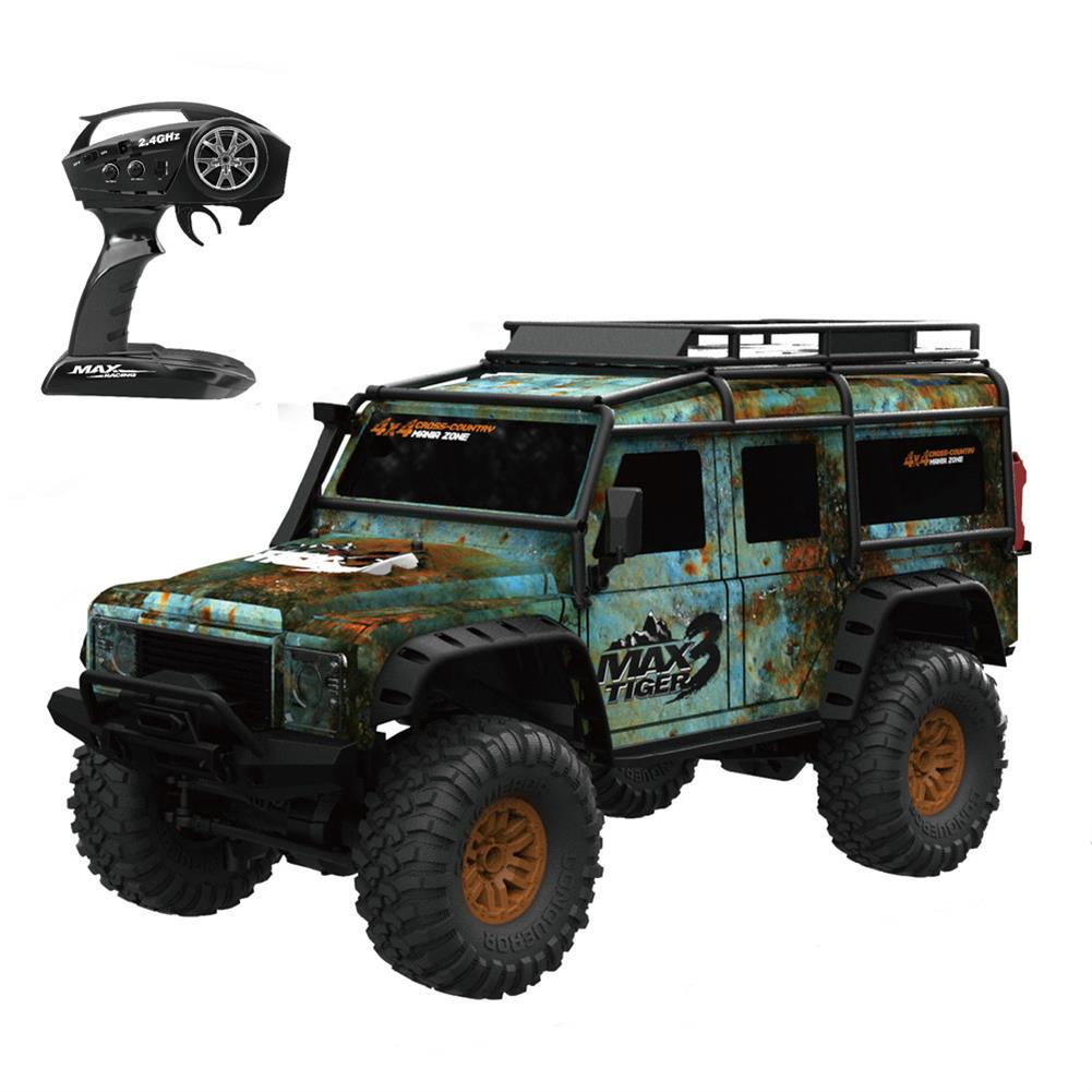 rc-cars HB Toys ZP1001 1/10 2.4G 4WD Rc Rally Car Proportional Control Retro Vehicle w/ LED Light RTR Model RC1448623