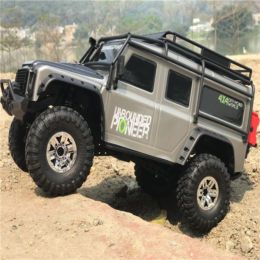 rc-cars HB Toys ZP1001 1/10 2.4G 4WD Rc Rally Car Proportional Control Retro Vehicle w/ LED Light RTR Model RC1448623 4