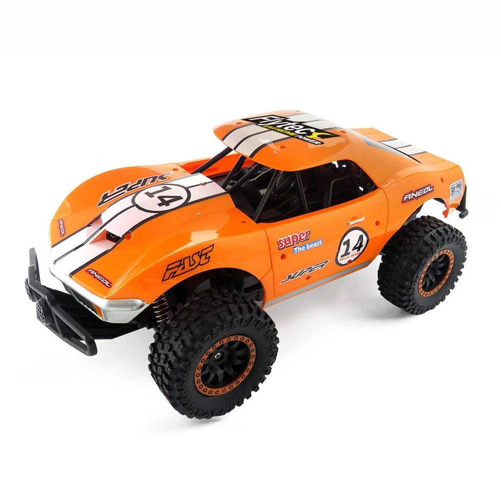 rc-cars Flytec SL-150A 1/14 Scale 2WD 2.4GHz Muscle Semi-High Speed Off Road RC Car Vehicle Models RC1448954 1