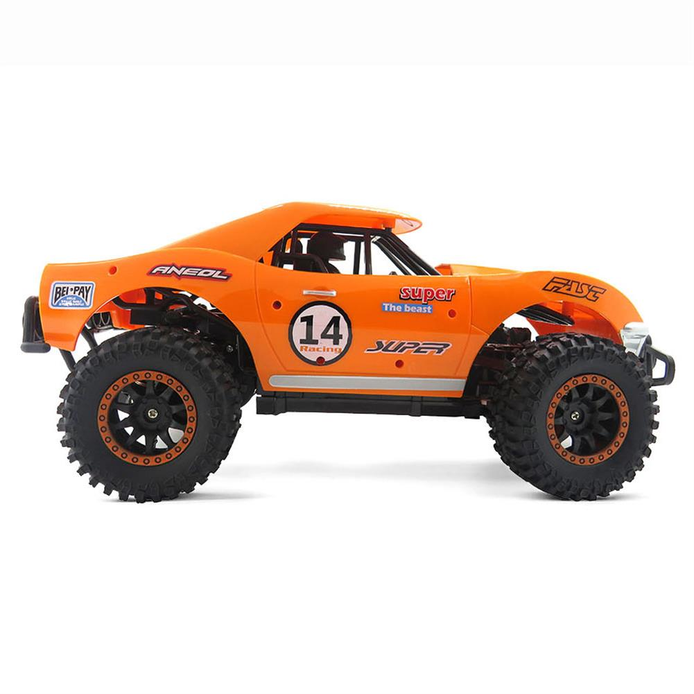 rc-cars Flytec SL-150A 1/14 Scale 2WD 2.4GHz Muscle Semi-High Speed Off Road RC Car Vehicle Models RC1448954 2