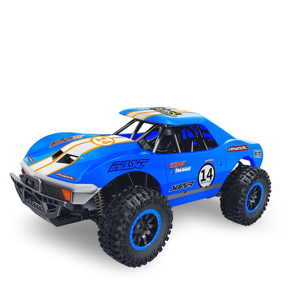 rc-cars Flytec SL-150A 1/14 Scale 2WD 2.4GHz Muscle Semi-High Speed Off Road RC Car Vehicle Models RC1448954 6