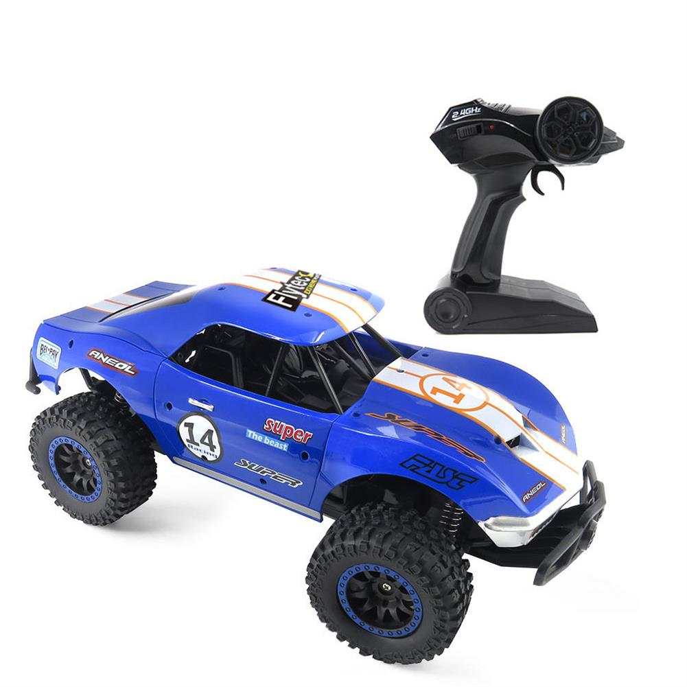 rc-cars Flytec SL-150A 1/14 Scale 2WD 2.4GHz Muscle Semi-High Speed Off Road RC Car Vehicle Models RC1448954 9