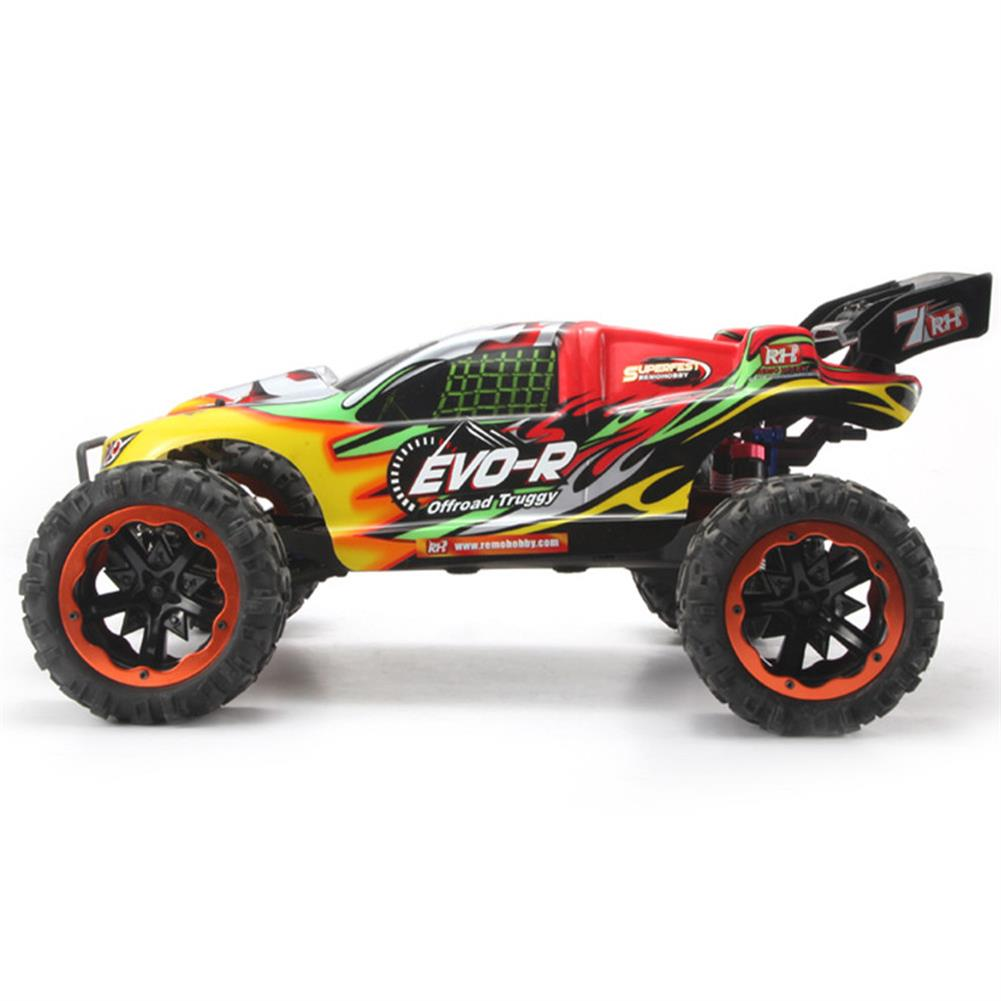 rc-cars Remo Hobby 8065 1/8 2.4G 4WD 40km/h Brushless Rc Car Electric Off-Road Truggy EVO-R RTR Model RC1451214 2